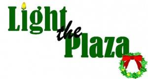 Light the Plaza logo